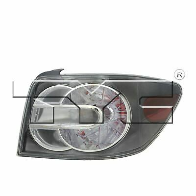 Right Side Replacement Tail Light Assembly For 2007-2009 Mazda