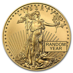 1/2 oz Gold American Eagle Coin - Random Year Coin - SKU #2