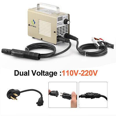 110v220v Mini Portable Arc Mma Welder Welding Machine Dc Inverter 10-200a Igbt