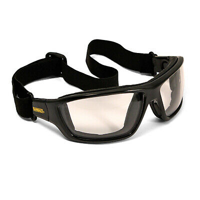Dewalt Converter Indooroutdoor Anti Fog Padded Safety Glasses Sun Goggles