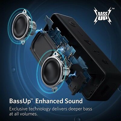 Portable Bluetooth Wireless Speaker Better Bass Sound Core Water Resistance