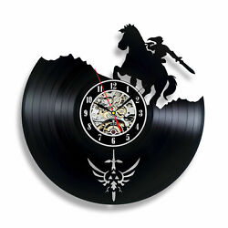 The Legend Of Zelda Exclusive wall clock made of vinyl record GIFT DECOR