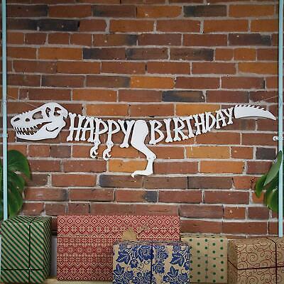 3D Dinosaur Birthday Banner T-Rex Raptor Jurassic Party Supplies Decoration Kids](Jurassic Party)