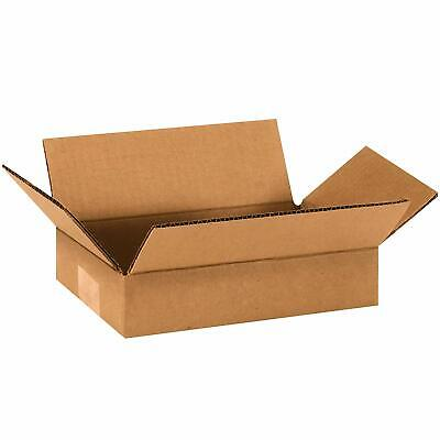 25 9x6x2 Cardboard Shipping Boxes Cartons Packing Moving Mailing Box Storage