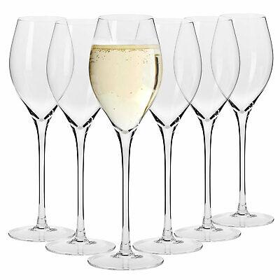 Krosno Harmony Sektgläser Champagnergläser Proseccogläser | Set von 6 | 280 ML