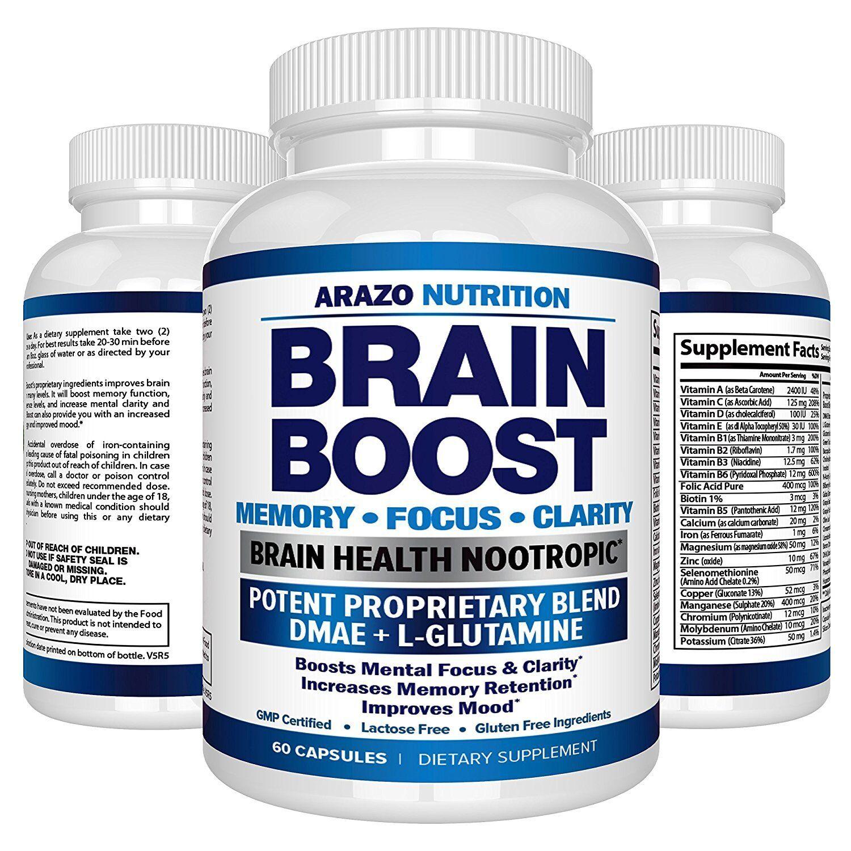 Pastillas Para El Cerebro - Vitaminas Para Mejorar El Funcionamiento De La Mente