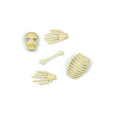 50 Skeleton Bones Skull Table Sprinkles Halloween Party Haunted House Decoration (Bones Halloween)
