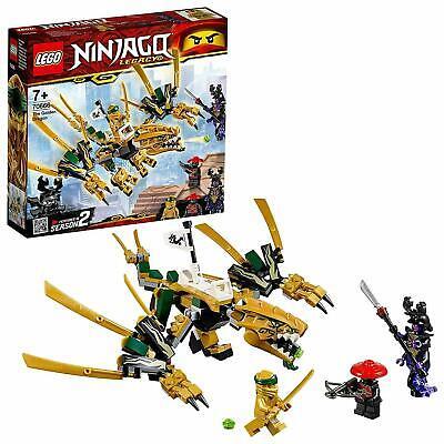 LEGO 70666 Ninjago Legacy Golden Dragon 2019 Kids Building Construction Toy Set