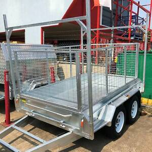 < SALE > New 10x5 Tandem Box Trailer with Ladder Racks 1990KG ATM Coopers Plains Brisbane South West Preview