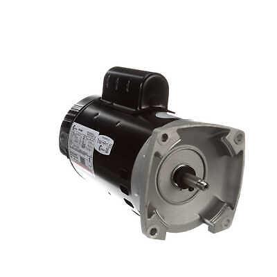- 1 HP 2-Speed 56Y Frame 230V Square Flange Pool Motor Century # B2982