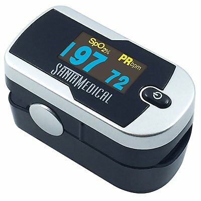 Pediatric Pulse Finger Oximeter Baby Children Adult Oled Digital Display Monitor