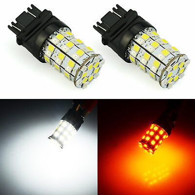 Jdm Astar Px Smd 3157 4157Na Led Switchback White Amber Turn Signal Light Dual