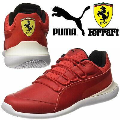 Puma Ferrari Evo Cat Mens Motorsport Running Trainers ✅ FREE 24Hr UK Delivery✅