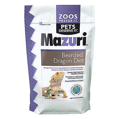 Mazuri Bearded Dragon Diet, 8 oz.