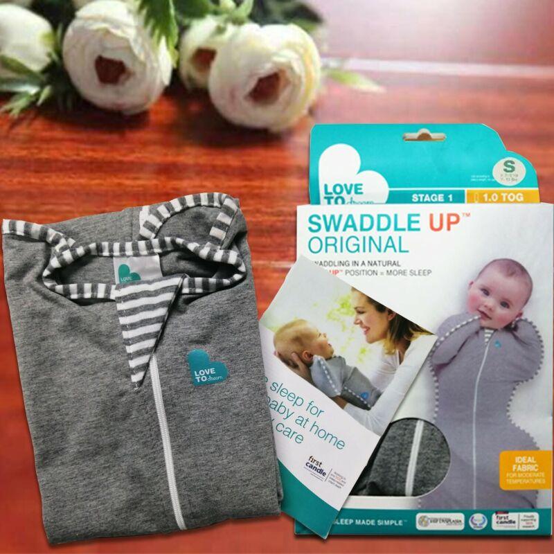 Love to Dream Swaddle Original Grey 7-13lbs , improve baby sleeping quality
