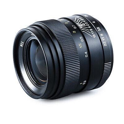 Oshiro 35mm f/2 Full Frame Prime Lens for Canon EOS EF Mount DSLR Cameras