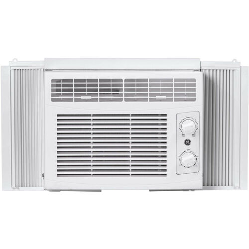 GE 5000 BTU Compact Window Air Conditioner, 150 Sq Ft Small Room Home AC Unit
