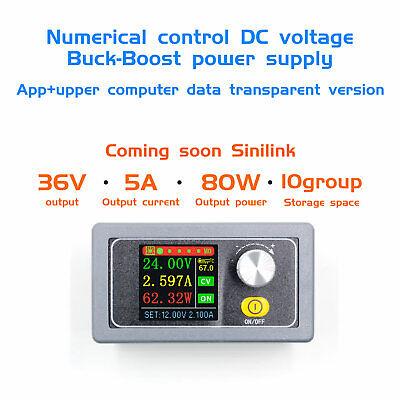 Xys3580 Dc Dc Buck Boost Converter Cc Cv 0.6-36v 5a Power Module Adjustable
