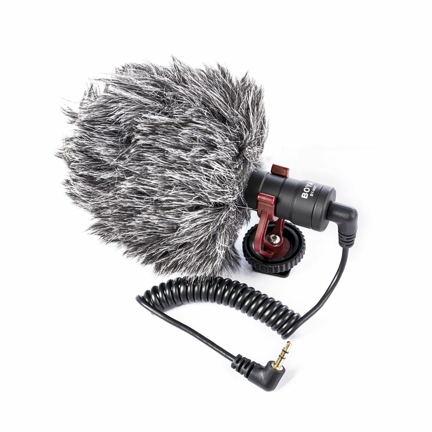 Купить BOYA - BOYA BY-MM1 Universal Cardiod Shotgun Microphone for Smartphone DSLR US Seller