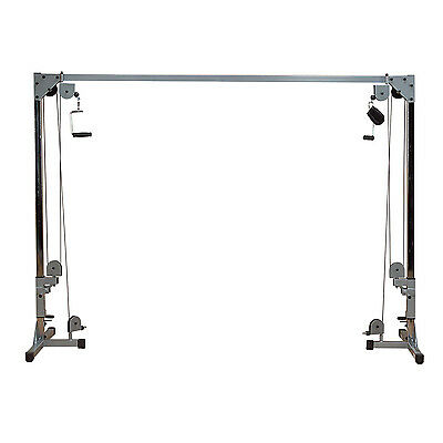 Cable Crossover Machine Powerline PCCO90X - Dual Cables with High/Low Pulleys