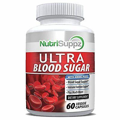 Suplemento natural de azúcar ultra sangre – Ayuda a apoyar niveles saludables de