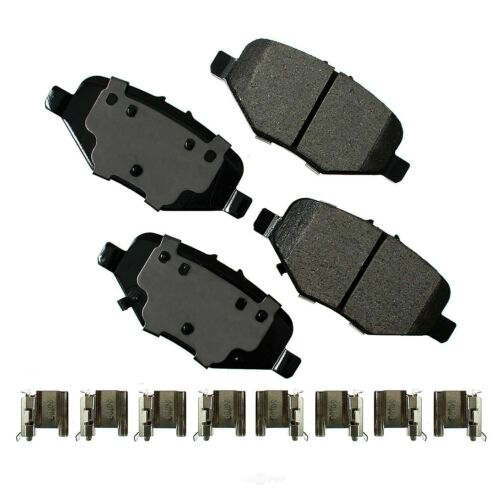 Disc Brake Pad Set-ProACT Ultra Premium Ceramic Pads Rear Akebono ACT610