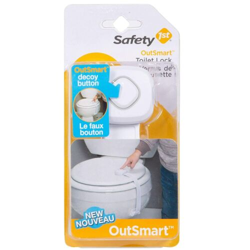 Safety 1st OutSmart Toilet Lock, White