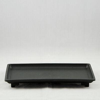 (Rectangular Black Plastic Humidity/Drip Tray for Bonsai Tree  10.5