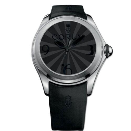 CORUM L082-03024 Men's Bubble Luminova Black Automatic Watch - watch picture 1
