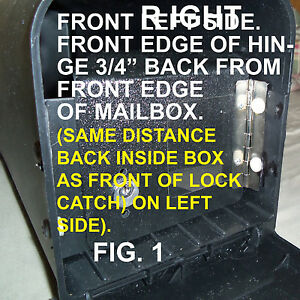 LOCKING MAILBOX INSERT FOR YOUR  medium SIZE PLASTIC SOLAR GROUP OR GIBRALTER .