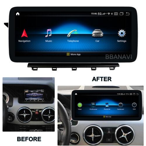 Android10 12.3inch Screen Car Multimedia GPS Mercedes Benz GLK 2013-2016 Carplay