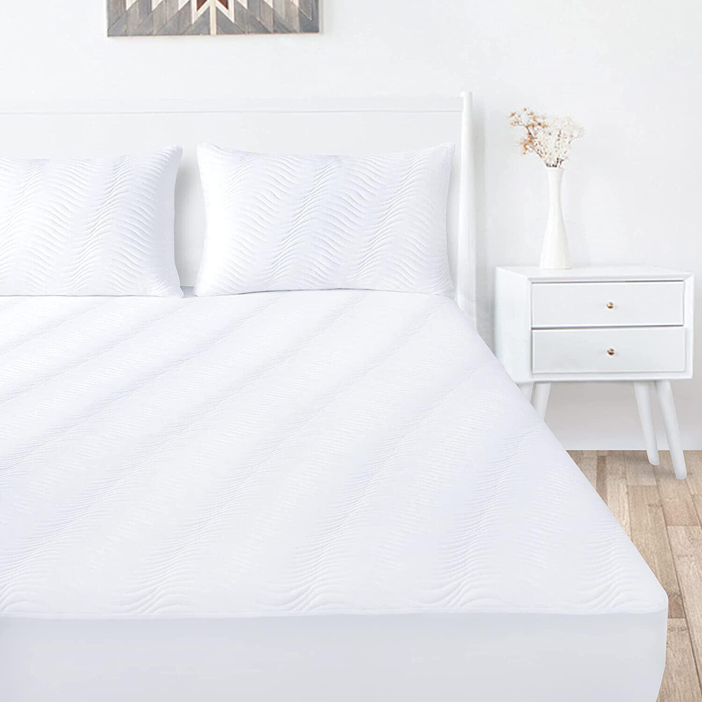 3d air fiber fabric mattress protector waterproof