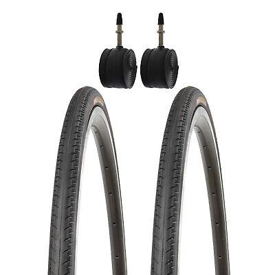 2x 28 Zoll Kenda Rennrad Reifen Fixie 28 Zoll 700x23C 23-622 mit Schläuchen FV