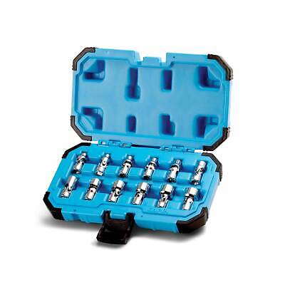 Used, Capri Tools 1/4 in. Drive Universal Socket Set, 5-15 mm Metric, 12-Piece for sale  Rowland Heights