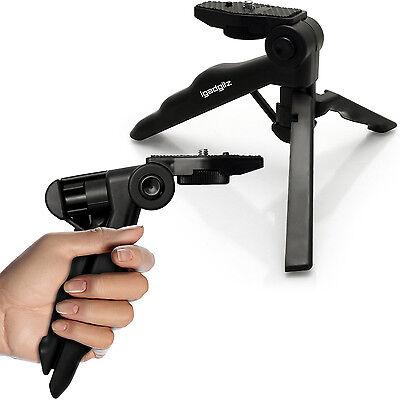 Mini Viaggio Treppiede Tavolo Stabilizzatore Manico per Fotocamera Digitale DSLR