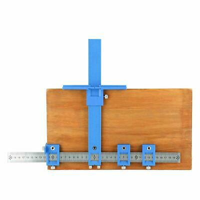 Punch Locator Drill Guide Sleeve Cabinet Hardware Jig Dowelling Woodworking Sets