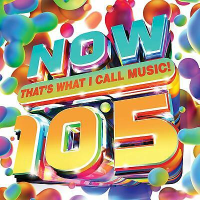 NOW THAT'S WHAT I CALL MUSIC! 105 2-CD (New Release May 8th 2020)