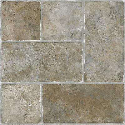 Luxury Vinyl Tile Self Adhesive Squares Peel And Stick Flooring Tiles 20 Pack - Luxury Vinyl Flooring