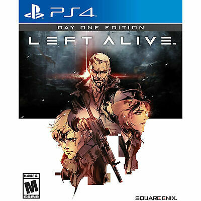 Left Alive Day One Edition (PS4, 2019) Brand New Factory Sealed