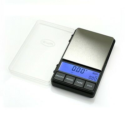 American Weigh Scales ACP-200 Digital Pocket Scale, 200 by 0.01 G, in Black New