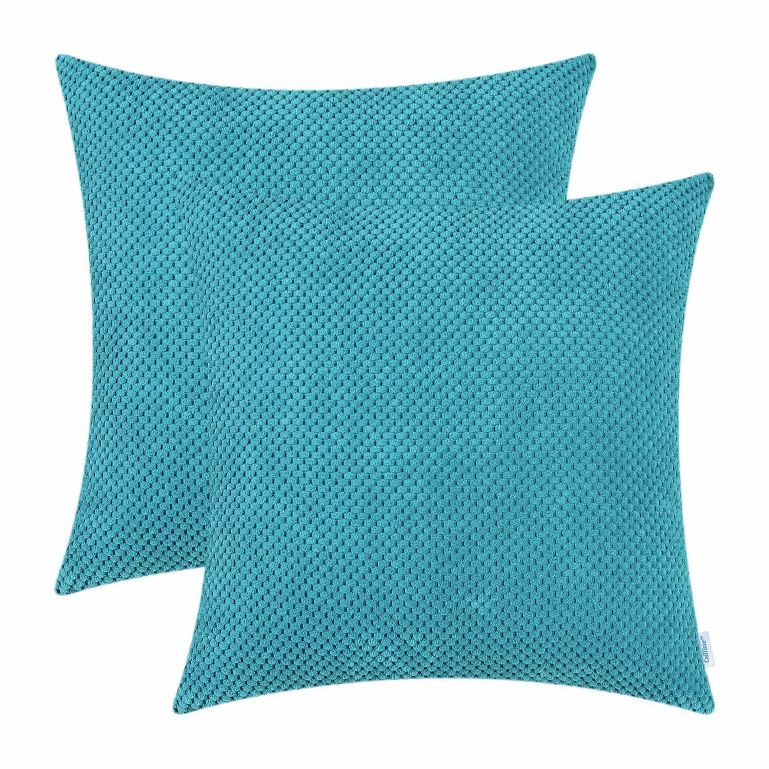 calitime pack of 2 comfy throw pillow