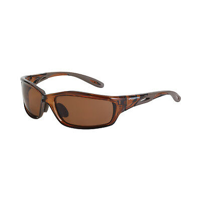 Crossfire Safety Glasses Infinity 21126 Hd Brown Polarized Lens Sunglasses