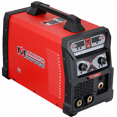 Amico 165 Amp Mig Wire Feederflux Cored Tig Torch Stick Arc Dc Welder Welding