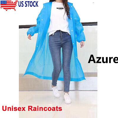 Unisex Raincoats Emergency Rain Coat Hoodies Waterproof Jack