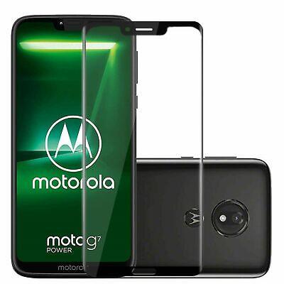 For Motorola Moto G7 Power Tempered Glass Screen Protector Full Coverage
