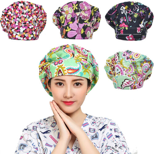 Surgical Caps Friendly Band Adjustable Scrub Cap Sweatband B