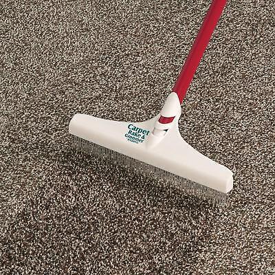 Roberts 70-127-3 Carpet Rake Groomer Rug 51 In Cleaning Home Pet Hair New
