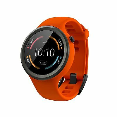 $99.99 - Motorola Moto 360 Sport SmartWatch Watch Orange