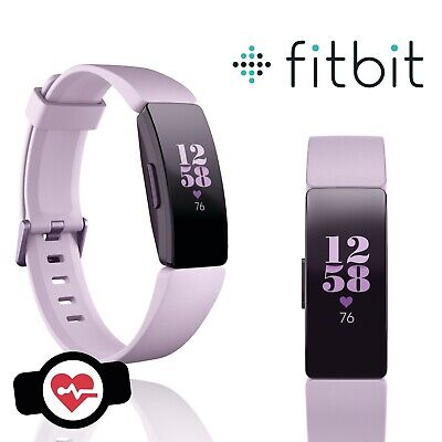 Fitbit Inspire HR Wristband Activity Tracker Fitness Sports Watch S & L Lilac