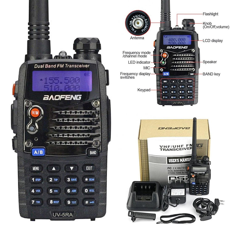 Digital Handheld Radio Scanner Two Way Police Ham Transceive